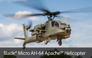 Blade AH-64 Apache Micro Scale RC Helicopter
