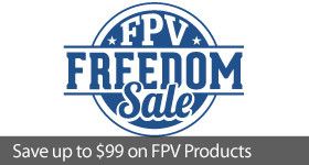 Save up to $99 on select FPV gear and Airplane FPV Bundles