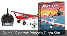 Save $50 on a Phoenix Flight Simulator