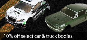 Save 10% on select car and truck bodies
