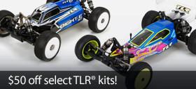 Save $50 on select TLR kits