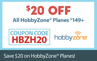 Save $20 on All HobbyZone Planes $149 and up
