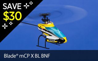 Save $30 on Blade mCP X BL Brushless BNF Bind N Fly RC Radio ControlBlack Friday Doorbuster