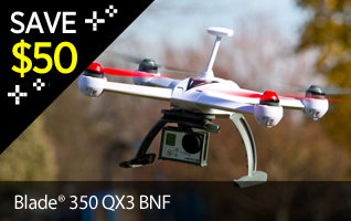 Save $50 on Blade 350 QX BNF Drone Black Friday Doorbuster