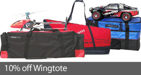 Save 10% on select Wingtote RC totes and covers