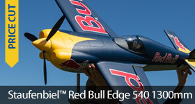 Staufenbiel Red BUll Edge 540 Sale Savings Discount 1.3m