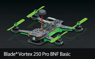 BLH9250 Blade Vortex 250 Pro BNF-Basic Drone Racer