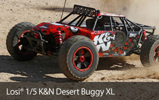 Losi DBXL Desert Buggy XL Xtra Large 1/5-scale Fifth LOS05001 K&N
