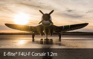 E-flite F4U-4 Corsair 1.2m BNF Pappy Coddington Black Sheep Squadron Scale RC Warbird Airplane