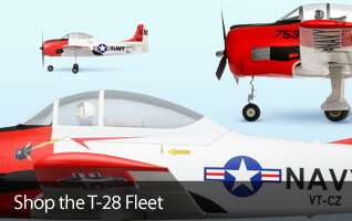 T-28 Trojan Rc Air Family