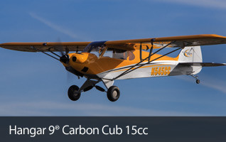 Hangar 9 Carbon Cub 15cc ARF Giant Scale RC Airplane
