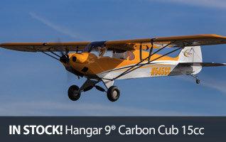 Hangar 9 Carbon Cub 15cc ARF RC Giant Scale Airplane