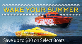 Save Up To $30 on Select Pro Boat Models