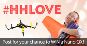 Share the Love and win a Free Blade Nano QX