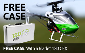 Free Case with Blade 180 CFX