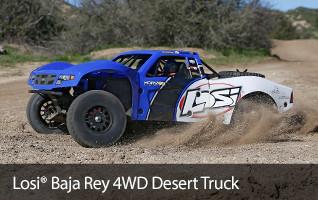 Losi Baja Rey 4WD Desert Truck RTR