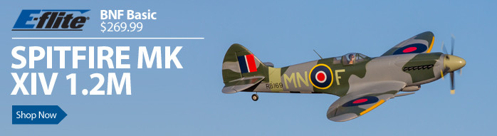 EFL8650 E-flite Spitfire Mk XIV 1.2m BNF-B