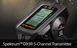 Spektrum DSMR Surface Transmitter Computer SPM5000 DX5R