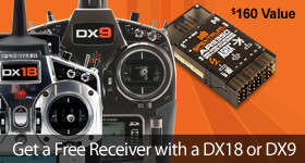 Get a FREE AR9350 with DX18 or DX9