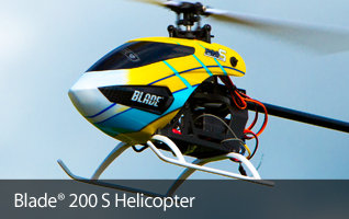 Blade 200 S Mini RC Helicopter with SAFE Technology