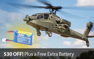 Apache Free battery Promo