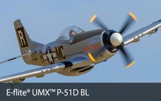 E-flite UMX P-51D BL Ultra Micro