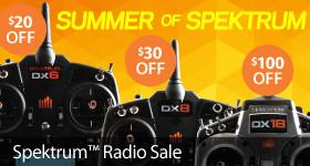 Summer of Spektrum Radio Sale