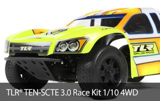 TLR TEN-SCTE 3.0 4WD Short Course Truck Off Road ROAR Champion