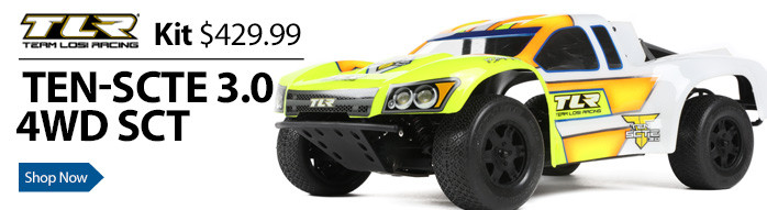 TLR Team Losi Racing TEN-SCTE 3.0 4WD Electric Short Course Trucks