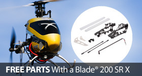 Buy a Blade 200 SR X and get a free spare parts bundle