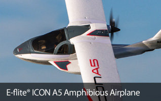 E-flite ICON A5 Amphibious RC Airplane