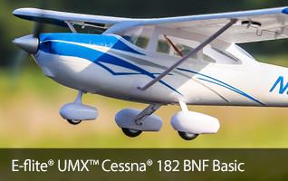 E-flite UMX Cessna 182 BNF Basic Civilian