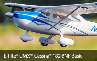 E-flite UMX Cessna 182 BNF Basic Scale RC Airplane