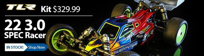 TLR 22 3.0 Spec Racer 17.5 13.5 Stock