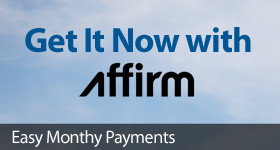 Get the gear you want now with convienient financing available from Affirm