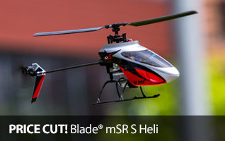 Save on the Blade mSR S Ultra Micro Fixed Pitch RC Helicopter with SAFE Technology