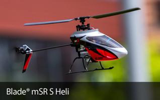 Blade mSR S Safe RTF BNF Helicopter Heli