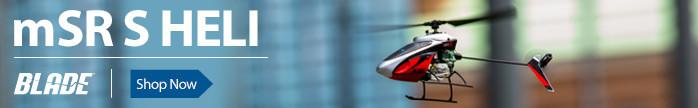 Blade mSR S Safe Heli Helicopter RTF BNF