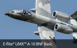 UMX A-10 Warthog BNF Basic E-flite