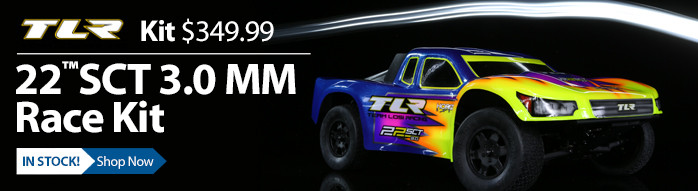TLR 22SCT 3.0 Race Short Course Truck 17.5 13.5 Stock