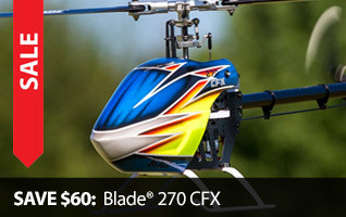 Save $60 Blade 270 CFX Black Friday