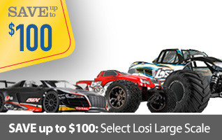 Save up to on select Losi Large Scale MTXL DBXL Monster Truck Desert Buggy Audi LST XXL
