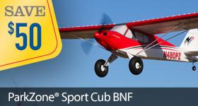 Cyber Week Sport Cub Parkzone
