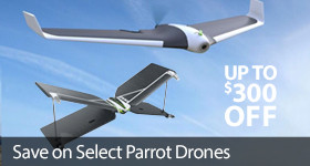 Save up to $300 off Select Parrot Drones