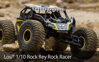 Losi Rock Rey LOS03009T1 LOS03009T2 Racer RTR Ready To Run Crawler Scaler AVC