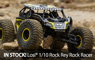 Losi Rock Rey Rock Racer 1/10 scale AVC RTR In Stock