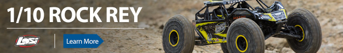 Losi Rock Rey RTR AVC Crawler Scaler Brushless