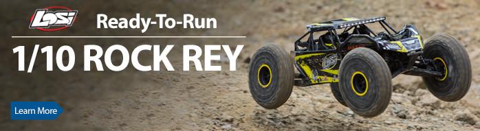 Losi Rock Rey Crawler Scaler RTR Spektrum