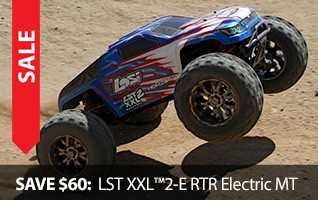Save $60 Season of Savings Losi LST XXL2 E Electric 4WD Monster Truck