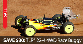 TLR Team Losi Racing 22-4 Belt Drive Only $200